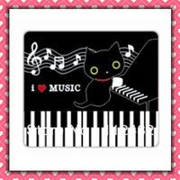 Free Shipping i love music laptop mouse pad 10pcs/lot coumputer mouse mat