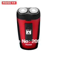 Free shipping POVOS PQ3300 razor electric razor rotary pole head EU PULG floating rechargeable electric shaver in stock