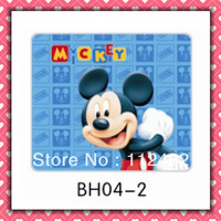 Free Shipping Mickey mouse laptop mouse pad 10pcs/lot coumputer mouse mat