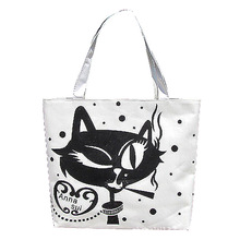 black canvas tote bag promotion