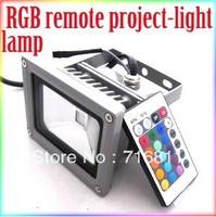 Free Shipping 20W 16 Color RGB Flash Landscape LED Flood light Outdoor Waterproof Floodlight 85V-265V 1 Year Warranty!