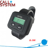 Wireless Bell System Wrist Receiver K-300 ; Can show service type and Show total coming calls