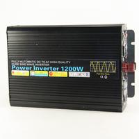 Pure sine wave inverter 24v 220v 1200w pure sine wave inverter converter free shipping