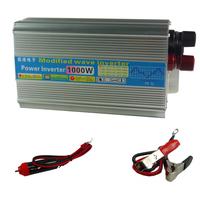 Car inverter 12v 220v 1000w car converter converter power supply  free shipping