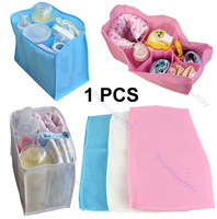 Free shipping Outdoor Travel Portable Baby Diaper Nappy Changing Water Milk Bottle Storage Bag