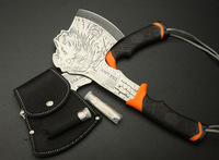 New Tiger 440 Steel ABS Handle camping axe tool Free shipping AX02