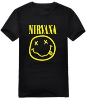2013 men's clothing nirvana kurt cobain short-sleeve t-shirt round neck t-shirt