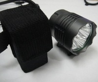Free Shipping 4x CREE XM-L T6 LED 30W 5200 Lumen Front Cycling Bike Bicycle Light Lamp Rechargeable HeadLamp HeadLight 6400mAh