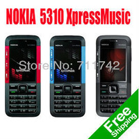 5310XM Original Nokia 5310 Xpress Music call Phone Russian keyboard  Free Shipping