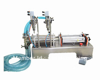 Free Shipping,Double-head Liquid Filling Machine(100-1000ml )+new arrive +pneumatic+stainless steel