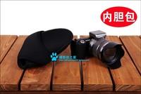 Hot ! SIZE:s,m,l Neoprene DSLR Camera Cover Case Bag Protector for Sony NEX-7 NEX-5N NEX-5C NEXC3 free shipping