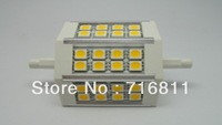 Free Shipping 2pcs/lot 2years warranty CE&Rohs 78mm R7S 5W LED Bulb
