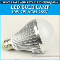 Hight power led bulb lamp 10W 10*1W AC85-265V Cold white/warm white Free Shipping
