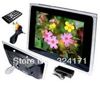 "2013 New 12.1"" LCD Digital Photo Picture Frame support Music, Movie Free shipping"