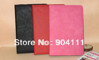Free shipping, original leather case for Ampe A10/Sanei N10 quad core tablet pc, 3 colors option
