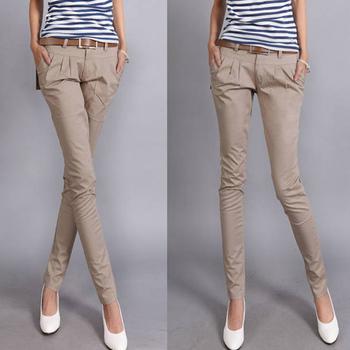 Free shipping 2013 harem pants long trousers ol women's slim casual pants pencil pants female