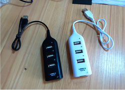 Mini USB 2.0 High Speed 4-Port 4 Port USB HUB Sharing Switch For Laptop PC Notebook Computer, Black/White Available(China (Mainland))