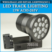 LED Track Lighting 15W Cold white / Warm White AC85-265V Free Shipping