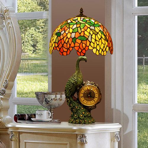لمبات موزاييك المصابيع تيفاني ملونة مصباح الفيسيفساء للمنازل ابجورات ملونة