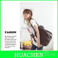 8001#A16 New Korean Style Girl's PU Leather  Handbag Shoulders Bag Back pack