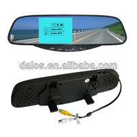 Free shipping 4 Sensors System 12v LED Display Indicator Parking Car Reverse Radar Kit Black