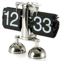 New Design Retro Digital Flip Page Gear Alarm Clock Fastion