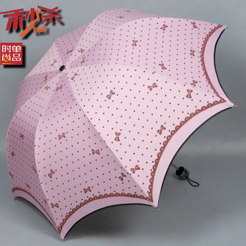 2013 kids raincoat! New arrival bow princess umbrella anti-uv apollo umbrella sun umbrella folding umbrellas