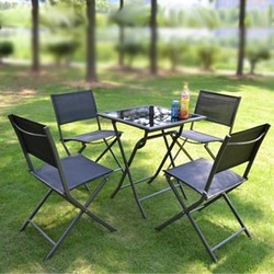 Outdoor tables and chairs balcony casual furniture garden furniture tables and chairs combination square table(China (Mainland))