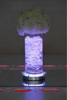 Hot sale Lot of 5pcs Wedding Centerpieces vases ligh Crystal Candelabra Led lighting