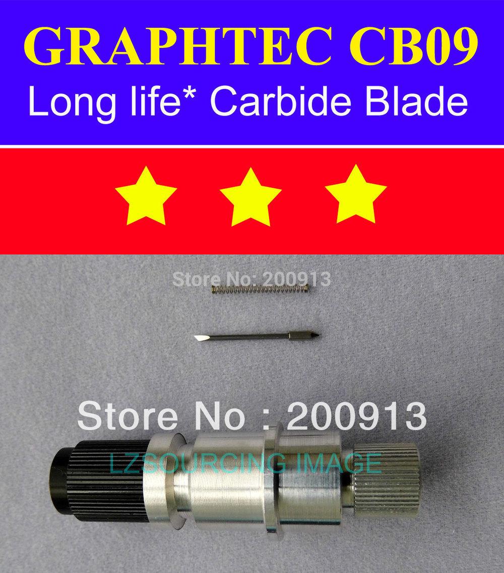 1x Graphtec CB09 Blade Holder + 5 pcs 45 degree Graphtec CB09 Blades for CB09 GRAPHTEC VINYL CUTTER PLOTTER(China (Mainland))
