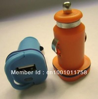 Car charger Supports smart mobile phones-2100MA