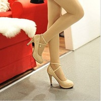 New spring 2014 fashion women leisure work high documentary shoes free shipping