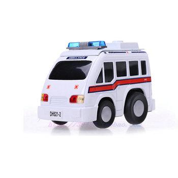 Eti cars ambulance toy cartoon car toy child acoustooptical WARRIOR alloy car