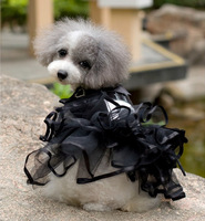 luxury fragrant pet fleabane skirt three-dimensional dog dress