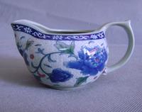 Free shipping Ceramic fair mug peony tea sea cup