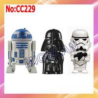 wholesale Star Wars USB Flash Drive 1GB 2GB 4GB 8GB 16GB 32GB 64GB USB Flash Disk Free shipping #CC229