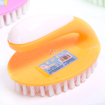 With a handle brush cleaning brush bathtub brush basin shoe brush