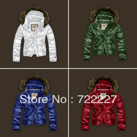 Free Shipping New Style Warm Ladies' Coat Down Jackets Fashion Down Jacket For Women Parkas hoodie coat outwear K38X