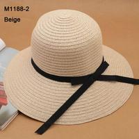 Wholesale Cap 2014 NEW Classic Wide Brim Hats Women Straw Hat Floppy Womens Summer Large Brimmed Sun Caps Big Ladies Beach Hat