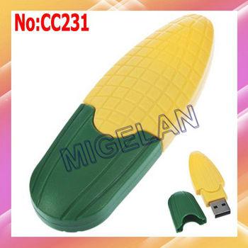 wholesale corn model USB Flash Drive 1GB 2GB 4GB 8GB 16GB 32GB 64GB USB Flash Disk Free shipping #CC231