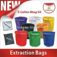 Bubble Extraction bag hash bag 5 gallon set of 8 bags