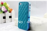 luxury Designer Leather Hard Case for iphone 5  5G Cell Phone Case