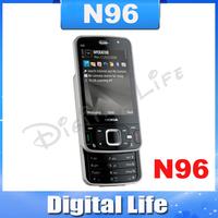 N96 Original Nokia N96 Mobile Phones 3G WIFI GPS Unlock Cell Phones 16GB internal Memory