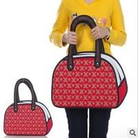 Fashion design Taiwan secondary yuan 3D shoulder bag cartoon handbag 1421