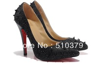 new colorful crystal shoes,Sexy Crystal high heels,Gorgeous wedding shoes shinning pumps,