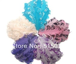 2013 high quality mix color nagorie feather pads + EMS free shipping(China (Mainland))