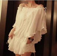 Free shopping Fairy 6002 lace charming shirt D809