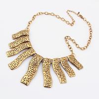 Fashion metal vintage exquisite women necklace