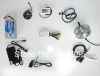 250w 36v e-bike conversion kits without rim, electric bike conversion kit,36v 10Ah battery