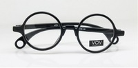 Vintage Round Eyeglass Frames Retro Eyeglasses Glasses Spectacles Full-Riim Black 4 Colours Optical Prescription